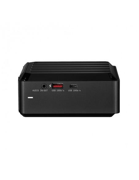 Western Digital D50 Caja externa para unidad de estado sólido (SSD) Negro