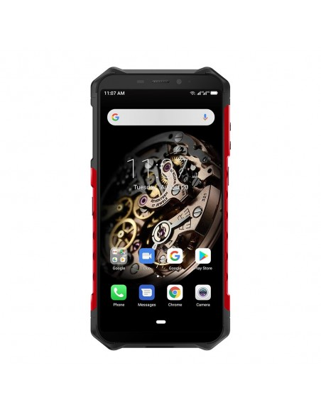 "Ulefone Armor X5 14 cm (5.5"") SIM doble Android 10.0 4G MicroUSB 3 GB 32 GB 5000 mAh Negro, Rojo"