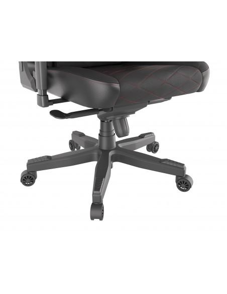 GENESIS Nitro 890 silla de oficina y de ordenador Asiento acolchado Respaldo acolchado