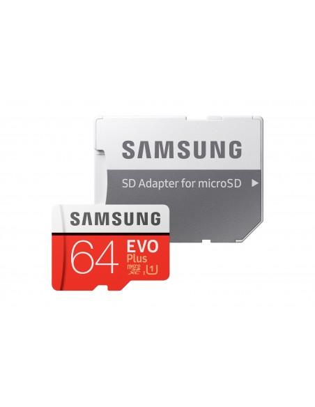 Samsung Evo Plus memoria flash 64 GB MicroSDXC UHS-I Clase 10