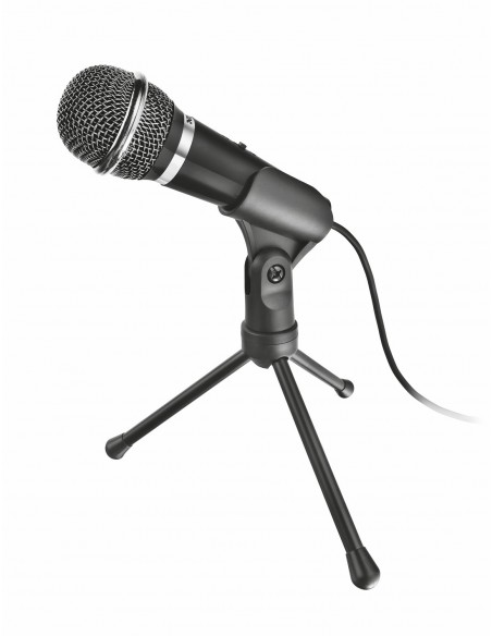 Trust 21671 micrófono Negro Micrófono para PC