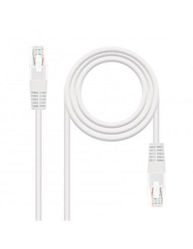 Nanocable 10.20.0403-W cable de red Blanco 3 m Cat6 U UTP (UTP)