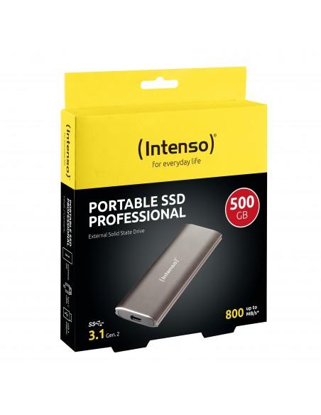 Intenso 3825450 unidad externa de estado sólido 500 GB Marrón