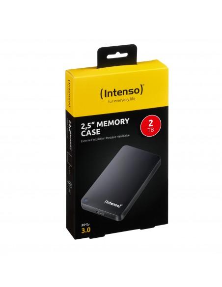 "Intenso 2TB 2.5"" Memory Case USB 3.0 disco duro externo 2000 GB Negro"