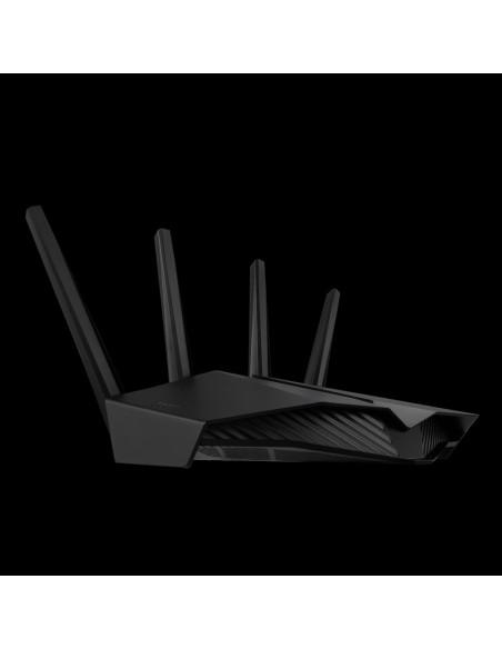 ASUS RT-AX82U router inalámbrico Gigabit Ethernet Doble banda (2,4 GHz   5 GHz) Negro