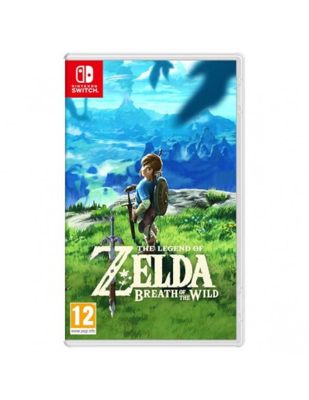 Nintendo The Legend of Zelda  Breath of the Wild Básico Nintendo Switch