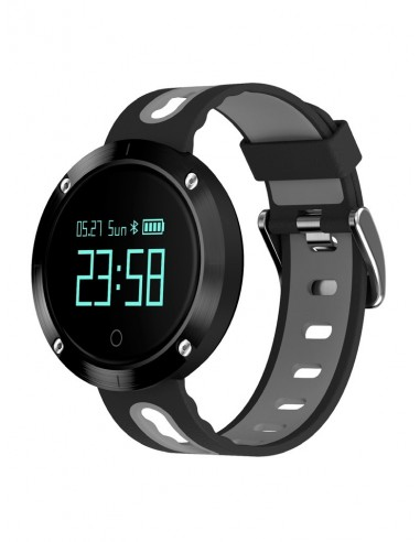 Billow XS30BG reloj deportivo Bluetooth Negro, Gris