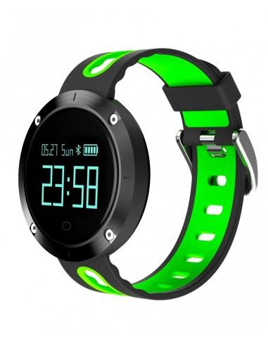 Billow XS30GP reloj deportivo Bluetooth Negro, Verde
