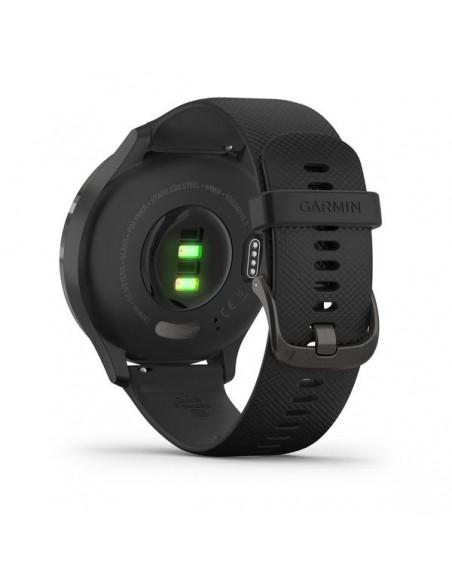 Garmin vívomove 3 44 mm OLED Negro GPS (satélite)