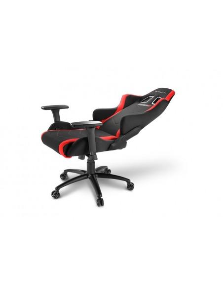Sharkoon SKILLER SGS2 Silla para videojuegos de PC Asiento acolchado Negro, Rojo