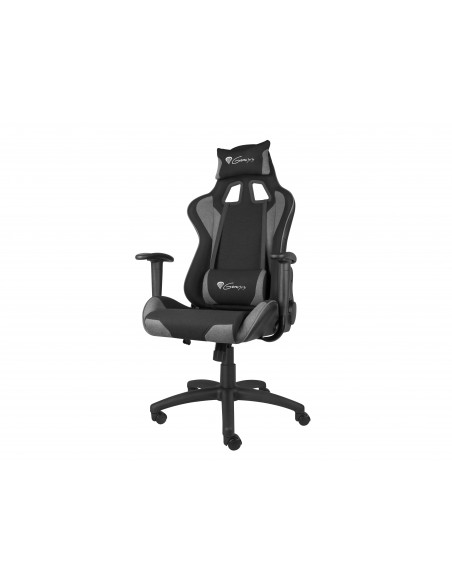 GENESIS NFG-1533 silla para videojuegos Silla para videojuegos de PC Asiento acolchado Negro, Gris