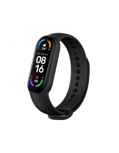 """Xiaomi Mi Smart Band 6 AMOLED Funda de brazo para monitor de actividad física 3,96 cm (1.56"""") Negro"""