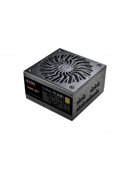 EVGA SuperNOVA 750 GT unidad de fuente de alimentación 750 W 24-pin ATX ATX Negro