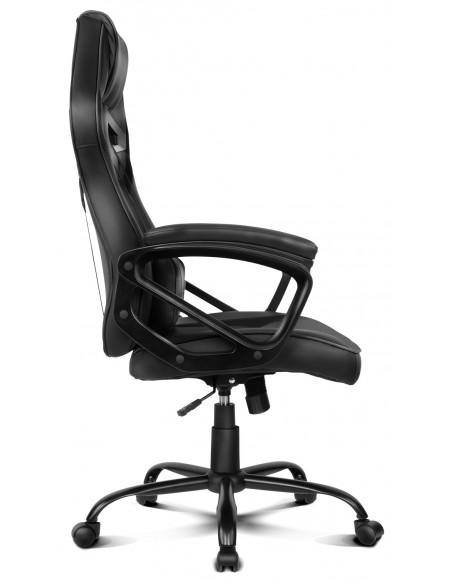 DRIFT DR50 Silla para videojuegos de PC Asiento acolchado tapizado Negro