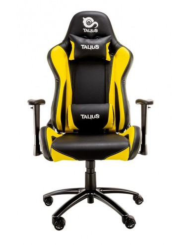TALIUS TAL-LIZARD-YLW silla para videojuegos Silla para videojuegos universal Asiento acolchado
