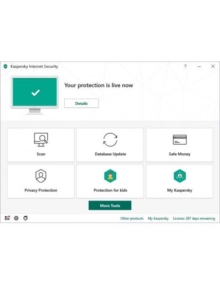 Kaspersky Lab Internet Security 2020 Licencia básica 1 año(s)