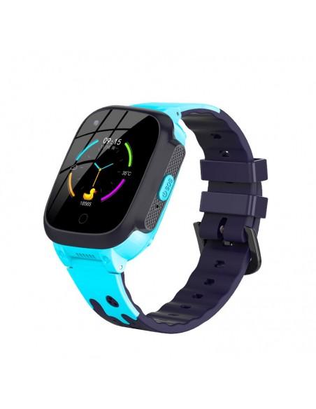 "InnJoo IJ-KIDS WATCH-BLU smartwatch 3,66 cm (1.44"") 42 mm IPS 2G Azul GPS (satélite)"