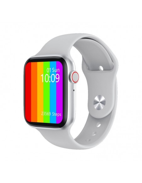 DCU Advance Tecnologic 34157040 reloj deportivo Pantalla táctil Bluetooth 320 x 385 Pixeles Blanco