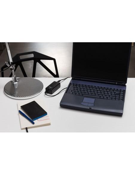 Bluestork PW-NB-90-HP adaptador e inversor de corriente Interior 90 W Negro