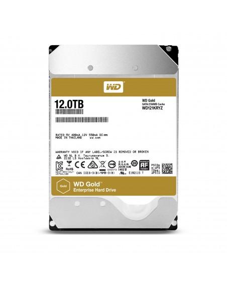 "Western Digital Gold 3.5"" 12000 GB Serial ATA III"